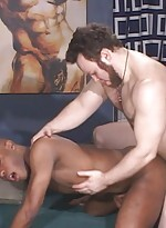 Cameron fenris, who starts the scene totally nude,